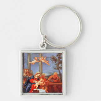 The Holy Family (Sacra Famiglia) Keychain