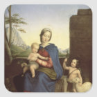 The Holy Family Square Sticker