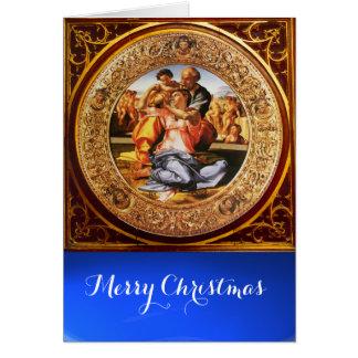 The Holy Family - The Doni Tondo Card