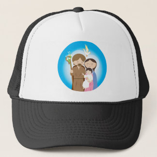 The Holy Family Trucker Hat