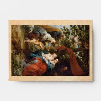 The Holy Family under the apple tree Rubens Paul Envelopes