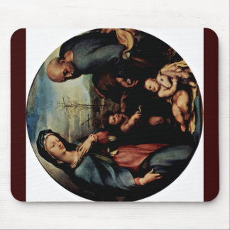 The Holy Family With John The Baptist Mousepads