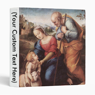 The Holy Family with Lamb Binder