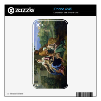The Holy Family with SS. John, Elizabeth and the I Decals For The iPhone 4S