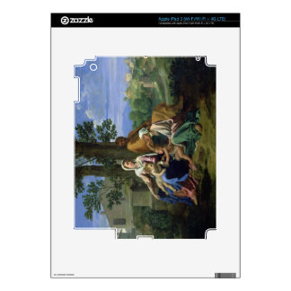 The Holy Family with SS. John, Elizabeth and the I iPad 3 Skins