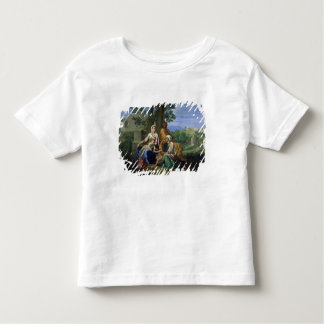 The Holy Family with SS. John, Elizabeth and the I Toddler T-shirt