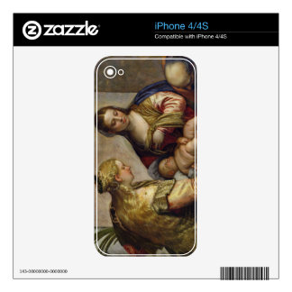 The Holy Family with St. Barbara, c.1550 (oil on c Skin For The iPhone 4S