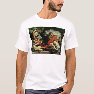 The Holy Family with St. Catherine of T-Shirt