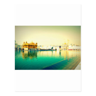 THE HOLY GOLDEN TEMPLE AMRISTAR PUNJAB POSTCARD
