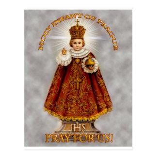 The Holy Infant of Prague Postcard