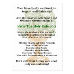 The Holy Kale Promotional Card Post Card