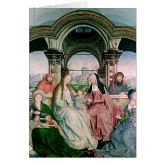 The Holy Kinship, or the Altarpiece of St. Card