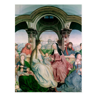 The Holy Kinship, or the Altarpiece of St. Postcard