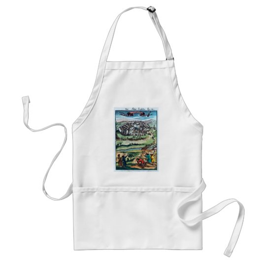 The Holy Land Adult Apron