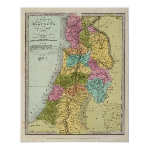 the Holy Land of Palestine Posters