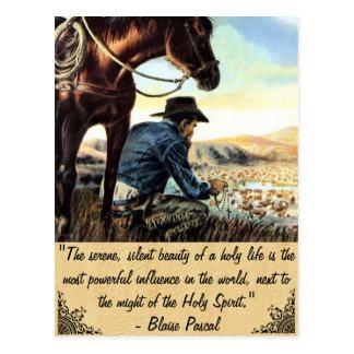 The Holy Life Postcard