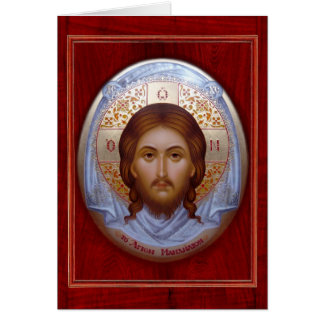 THE HOLY MANDYLION - Icon card