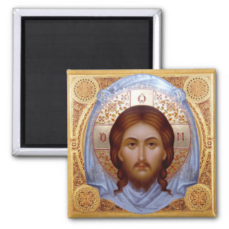 THE HOLY MANDYLION -- Icon Magnet