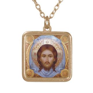 THE HOLY MANDYLION -- Icon Necklace