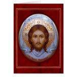 THE HOLY MANDYLION- Prayer Card