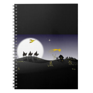 The Holy Night and the Tree Wise Men Notebook