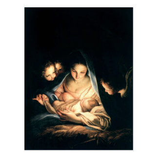 The Holy Night (The Nativity) Postcard