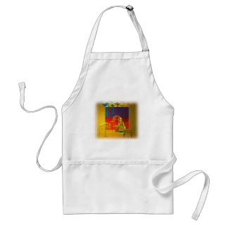 The Holy Place of the Tabernacle with High Priest Adult Apron