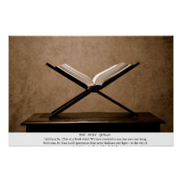 The Holy Quran Poster
