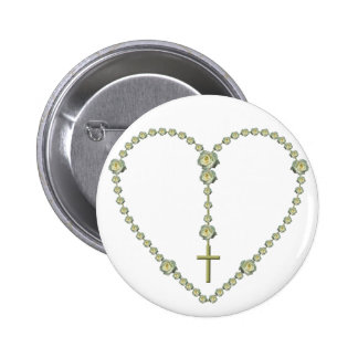 The Holy Rosary 2 Inch Round Button