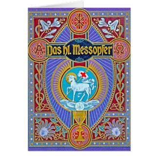 The holy sacrifice-messopher card