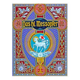 The holy sacrifice-messopher postcard