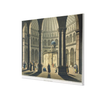 The Holy Sepulchre, pub. by William Watts, 1806 (e Canvas Print