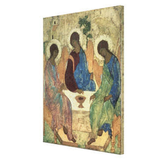 The Holy Trinity, 1420s Stretched Canvas Print
