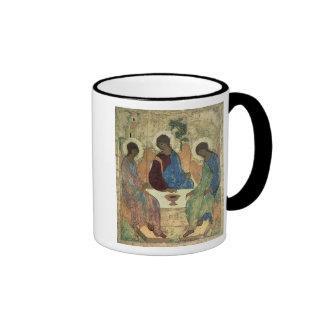 The Holy Trinity, 1420s Ringer Coffee Mug