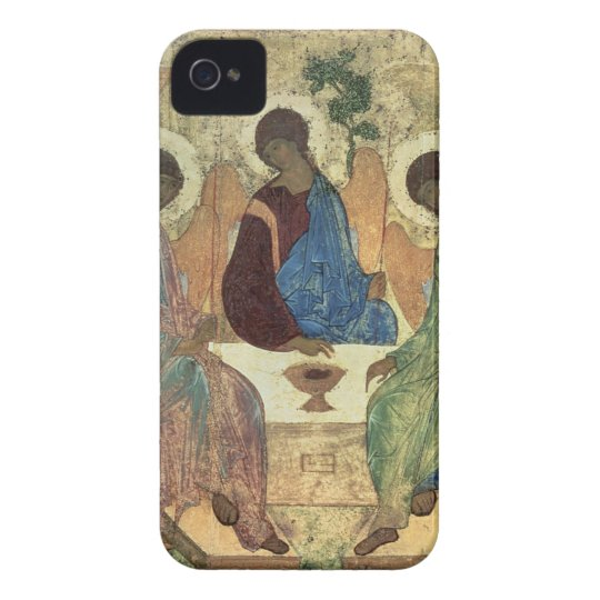 The Holy Trinity, 1420s (tempera on panel) iPhone 4 Case-Mate Case