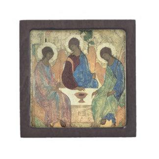 The Holy Trinity, 1420s (tempera on panel) Jewelry Box