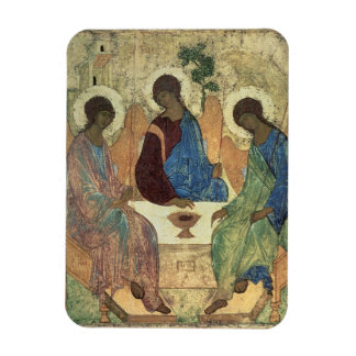 The Holy Trinity, 1420s (tempera on panel) Flexible Magnet