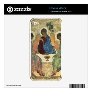 The Holy Trinity, 1420s (tempera on panel) Skin For iPhone 4S