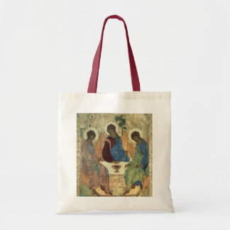 The Holy Trinity, 1420s (tempera on panel) Tote Bag