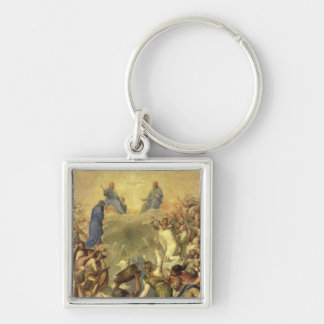 The Holy Trinity, 1553/54 (oil on canvas) Keychain