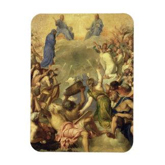 The Holy Trinity, 1553/54 (oil on canvas) Rectangular Photo Magnet