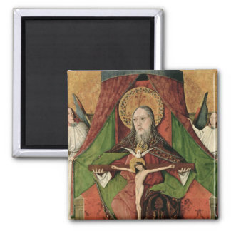 The Holy Trinity from the Mosol Altarpiece 2 Inch Square Magnet