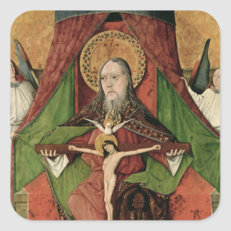 The Holy Trinity from the Mosol Altarpiece Square Sticker