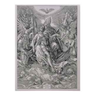 The Holy Trinity, pub. 1511 Poster