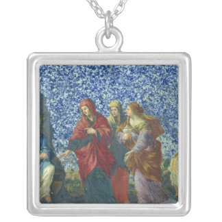 The Holy Women at the Tomb Silver Plated Necklace