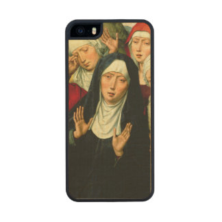 The Holy Women, right hand panel Carved® Maple iPhone 5 Case
