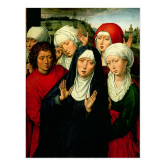 The Holy Women, right hand panel Postcard