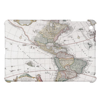 The Homanns Heirs Map of The Americas iPad Mini Covers