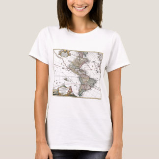 The Homanns Heirs Map of The Americas T-Shirt