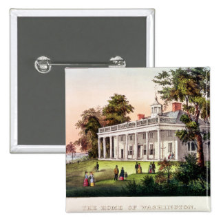 The Home of George Washington Pinback Button